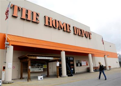 FILE - In this Aug. 14, 2012 file photo, a customer walks toward a Home Depot in Nashville, Tenn. Home Depot on Monday, Sept. 8, 2014 confirmed that its payment systems have been hacked in a data breach that could affect millions of shoppers who used credit and debit cards at its more than 2,000 U.S. and Canadian stores. (AP Photo/Mark Humphrey, File)