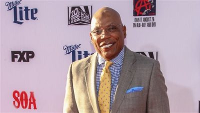"""In this Saturday, Sept. 6, 2014 file photo, Paris Barclay attends the LA Premiere Screening of """"Sons Of Anarchy"""" at at TCL Chinese Theatre, in Los Angeles. A new guild study says that women and minorities were largely shut out of the ranks of TV directors again last season. In a Wednesday, Sept. 17, 2014 statement, Directors Guild President Barclay said it can be """"shockingly difficult"""" to persuade those who control industry hiring to make even small improvements. (Photo by Paul A. Hebert/Invision/AP, file)"""