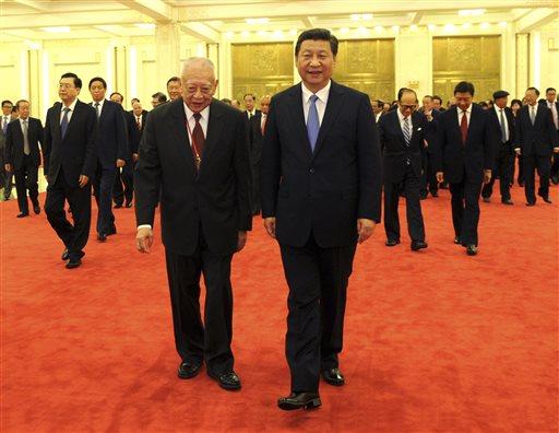 Xi Jinping, Tung Chee-hwa