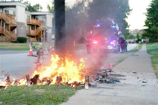 Police Shooting Missouri Memorial