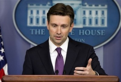 White House spokesman Josh Earnest (AP Photo)