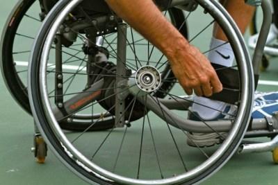 man-on-a-wheelchair