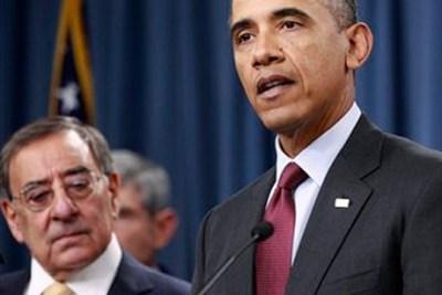 Leon Panetta and President Obama (Haraz N. Ghanbari/AP Photo)