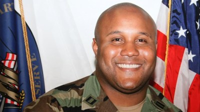 This undated photo released by the Los Angeles Police Department shows suspect Christopher Dorner, a former Los Angeles officer. (Los Angeles Police Department/AP Photo)