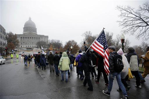Ferguson Protest March
