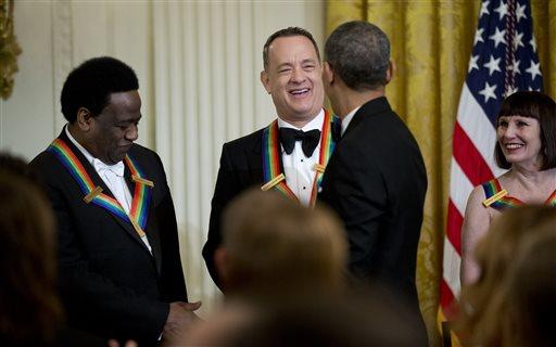 Barack Obama, Al Green, Tom Hanks, Patricia McBride