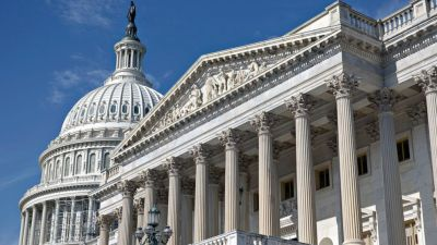 This July 16, 2014, file photo shows the U.S. Senate on Capitol Hill in Washington. ( J. Scott Applewhite/AP Photo)