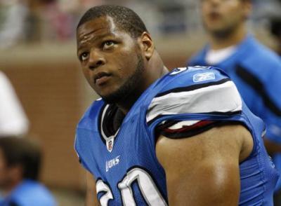 Detroit Lions defensive tackle Ndamukong Suh (AP Photo)