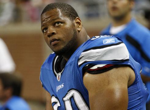 Detroit Lions defensive tackle Ndamukong Suh (AP Photo)