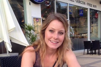 This undated photo provided by A Ticket Forward shows Elizabeth Quinn Gallagher. Jordan Axani, the Toronto man who made headlines in November 2014 by offering a free round-the-world air ticket to a woman with the same name as his ex-girlfriend has found Ms. Right: Gallagher. (AP Photo/Courtesy A Ticket Forward)