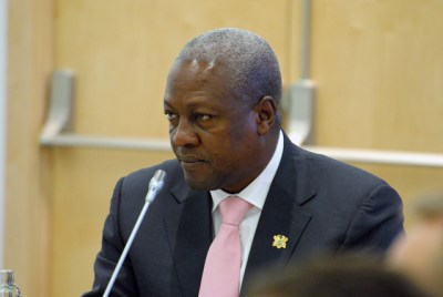 Ghana President John Dramani Mahama (Chatham House/Flickr/Creative Commons)