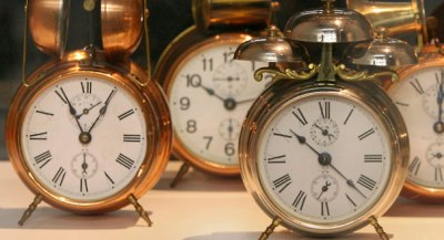 Alarm clocks (AP Photo)