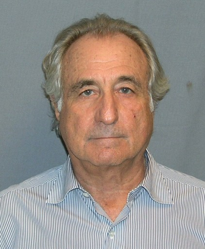 Bernard Madoff (Department of Justice photo)