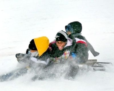 Sledding (Wiley Price / St. Louis American)