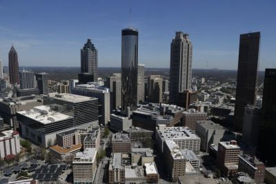 Atlanta skyline (AP Photo/Mike Stewart)