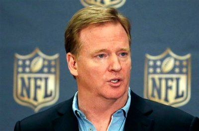 In this March 25, 2015, file photo, NFL Commissioner Roger Goodell addresses the media at a news conference at the NFL Annual Meeting in Phoenix. The National Football League is giving up its tax-exempt status. In a letter to team owners, Commissioner Roger Goodell said the league office and its management council will file tax returns as taxable entities for the 2015 fiscal year. Goodell says the NFL has been tax-exempt since 1942, though all 32 teams pay taxes on their income. (AP Photo/Ross D. Franklin, File)