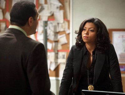 """Taraji P. Henson as Detective Carter on the CBS show """"Person of Interest"""" (Eric Liebowitz/CBS)"""