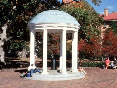 The Old Well on the campus of the University of North Carolina at Chapel Hill. (AP Photo)