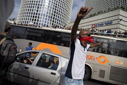 Mideast Israel Ethiopians Protest