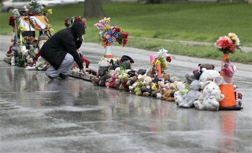 APTOPIX Ferguson Brown Memorial