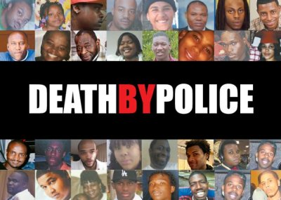 The faces of the men and women pictured above are some who have died at the hands of or during encounters with police from 1999-2014. This list was tweeted by the NAACP Legal Defense Fund last December.