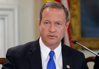 Former Maryland Gov. Martin O'Malley speaks before signing a bill abolishing capital punishment in the state during a ceremony in Annapolis, Md., Thursday, May 2, 2013. Maryland is the first state south of the Mason-Dixon Line to repeal the death penalty. (AP Photo/Patrick Semansky)