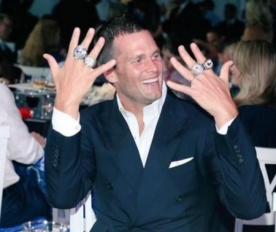 Tom Brady (via New England Patriots on Twitter)