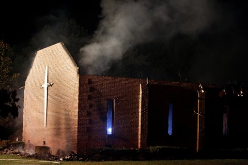 Mt. Zion AME church fire