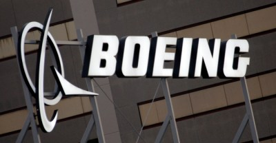 In this Jan. 25, 2011 file photo is the Boeing Company logo on the property in El Segundo, Calif. (AP Photo/Reed Saxon, File)