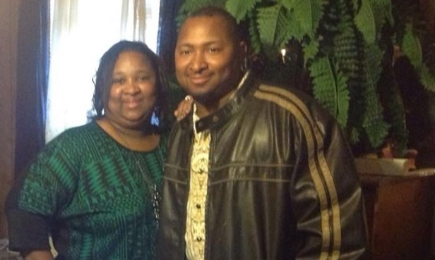 Jonathan Sanders and his mother, Frances Sanders. (Family photo)
