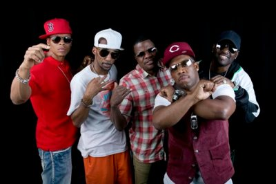 """In this June 24, 2014 file photo, members of the 80s Boston boy band """"New Edition"""", from left, Ralph Tresvant, Johnny Gill, Ronnie DeVoe, Michael Bivins and Ricky Bell pose in New York. BET and Jesse Collins Entertainment announced Monday, Aug. 10, 2015, that they are producing a still-untitled three-night miniseries chronicling New Edition.  Tresvant, Gill, DeVoe, Blivins and Bell will serve as consultants and executive producers on the project. (Photo by Amy Sussman/Invision/AP, File)"""