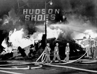 The Watts district of Los Angeles during the unrest of August 1965. (AP Photo)