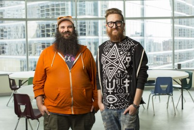 Modest cofounders Dylan Richard and Harper Reed worked for President Barack Obama's re-election campaign before starting their Chicago-based mobile apps startup. (Photo courtesy of Modest)