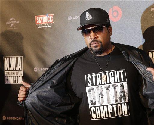 France Straight Outta Compton Premiere