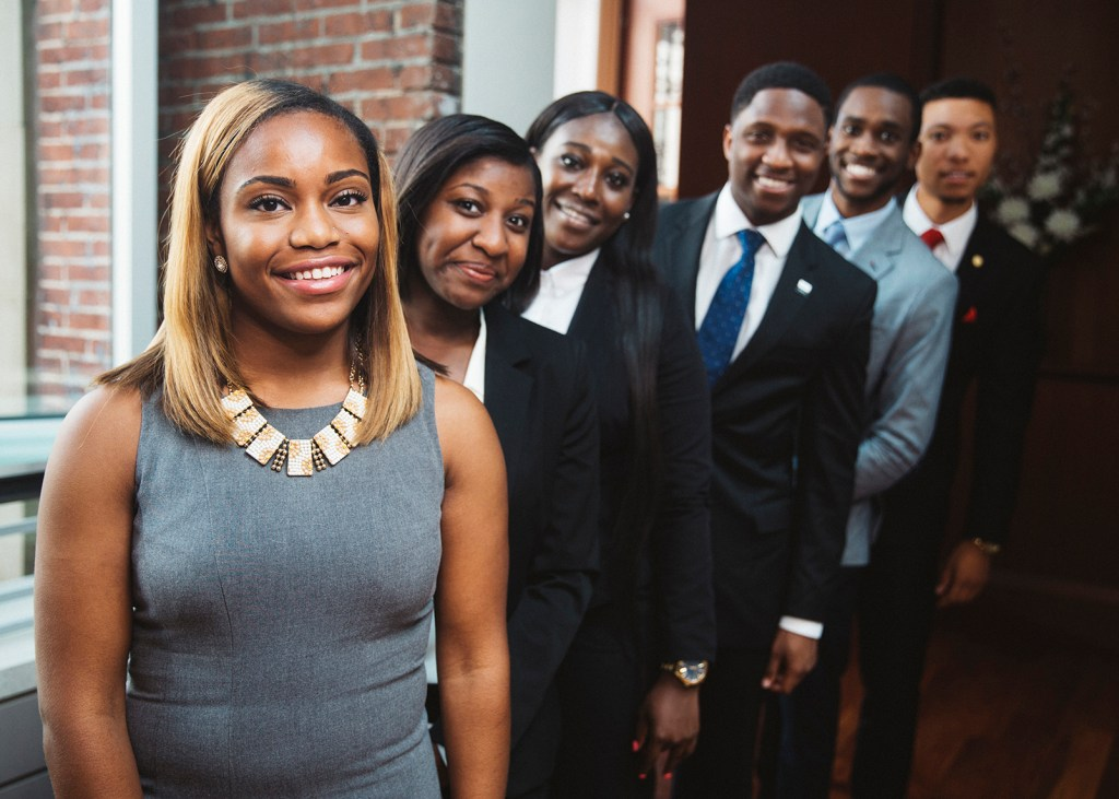 The Apple HBCU Scholars program is just one element of the $40 million partnership between TMCF and Apple announced earlier this year.(Photo Courtesy the Thurgood Marshall Fund)