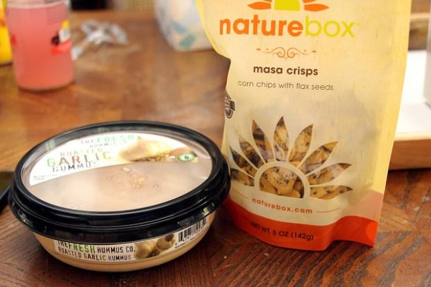 Nature Box snacks. (StarsApart/Flickr/CC BY 2.0)