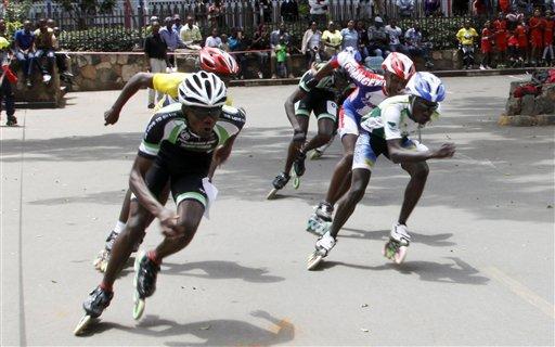 Kenya Roller Skating Craze