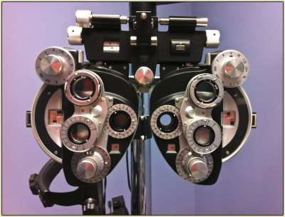 Eye Test Machine (Phoropter)