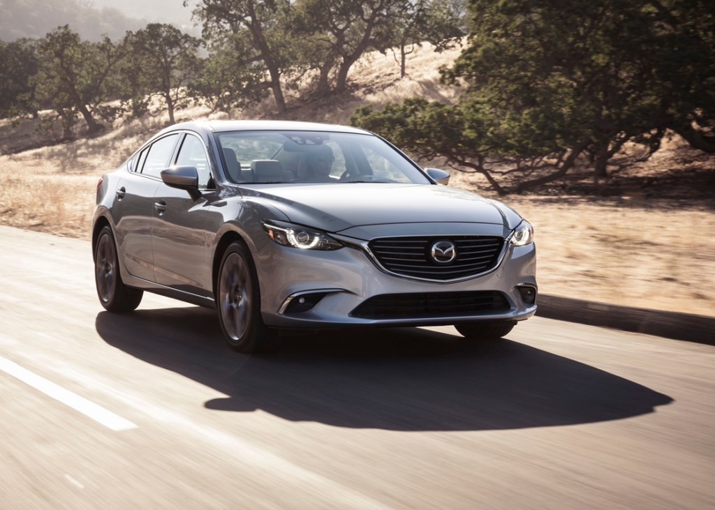 Frank Washington says that the Mazda6 looked like sheet metal in motion even when at a standstill. (Mazda)