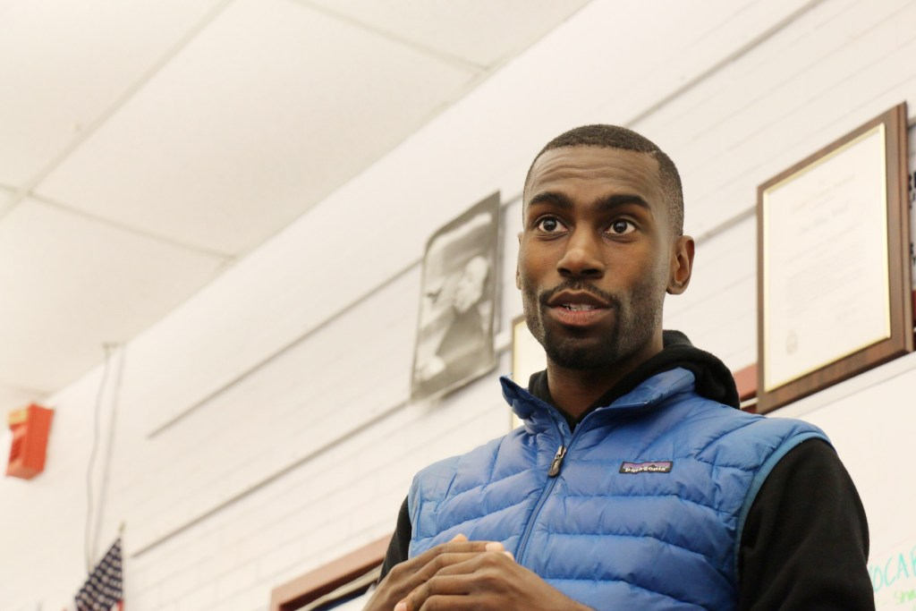 Deray McKesson has been one of the most vocal activists in the Black Lives Matter Movement since the Ferguson shooting of 18-year-old Michael Brown in August 2014. (Erin Woggon/Manual RedEye)