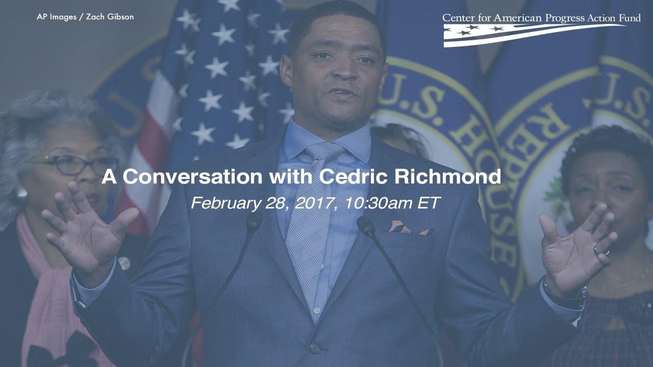 LIVESTREAM: A Conversation with Cedric Richmond