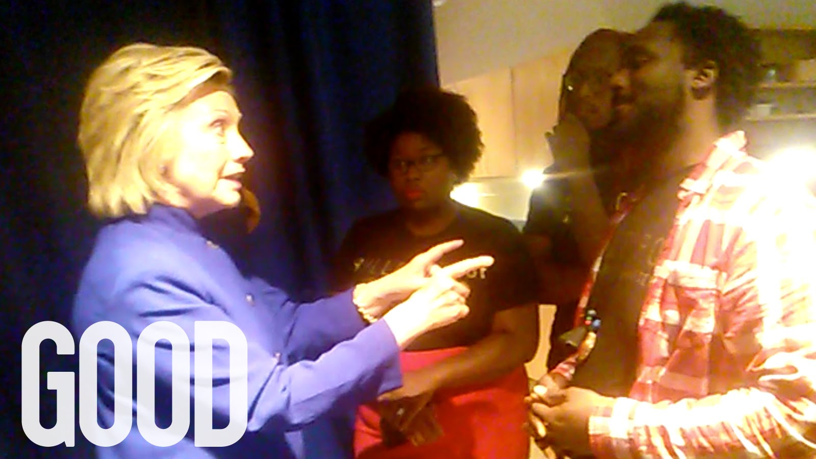 Why Hillary Clinton's Encounter with Black Lives Matter is Her Defining Performance