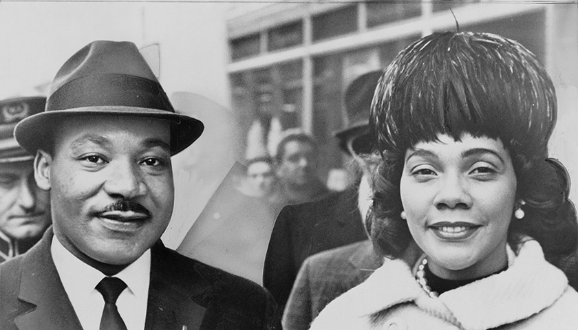 Dr. Martin Luther King, Jr. and Coretta Scott King. (Wikimedia Commons)