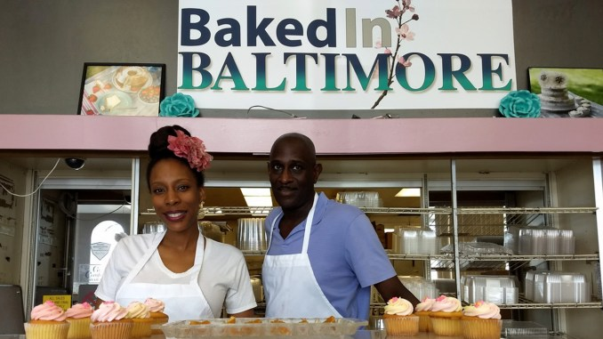 April Richardson and Derek Lowery are the co-founders of Baked in Pikesville, Maryland.