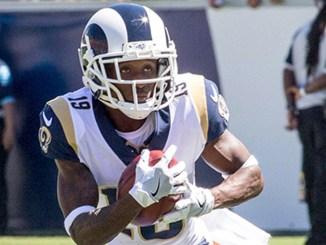 os Angeles Rams wide receiver Jojo Matson (19)