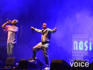 Nas headlined Day One of the 2018 ONE Musicfest at Central Park on Sept. 8. (Marshall A. Latimore / The Atlanta Voice)