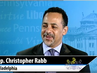 Pa. state Rep. Chris Rabb discusses recent votes in the House of Representatives, including the measure to make Pennsylvania complaint with federal Real ID regulations. Rabb missed a few days of session earlier in the year due to an unplanned surgery; he explains his position on the major votes that were taken in his absence. (Photo: Screenshot / YouTube)