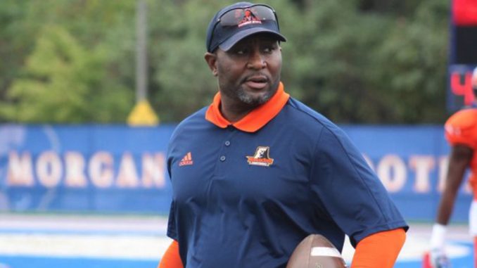 Morgan State University Interim Coach Ernest Jones (Courtesy Photo/Twitter.com @MorganStBears)