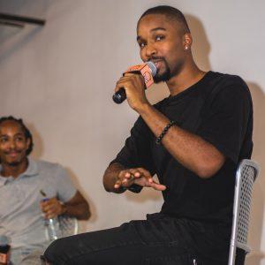 Level Up Founder Adonis Thrax (right) and Elijah Walker. (photo: Nijon Crew/Level Up)