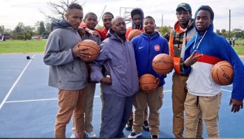 2a0c52daa62 Detroit Pistons and City of Detroit Compete First Wave of Basketball Court  Refurbishments